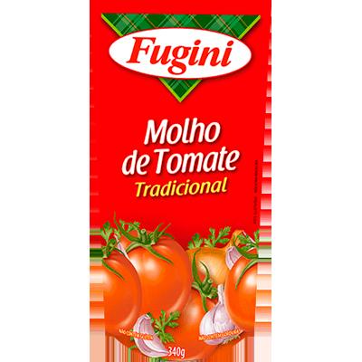 Molho de tomate  340g Fugini sachê UN