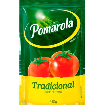 Molho de tomate  340g Pomarola sachê UN
