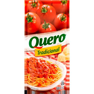 Molho de tomate  340g Quero sachê UN