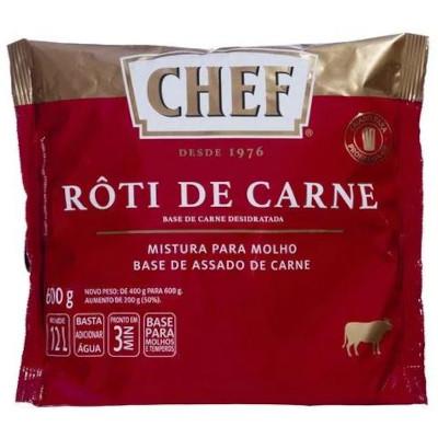 Molho escuro róti de carne pacote 600g Nestle Chef PCT