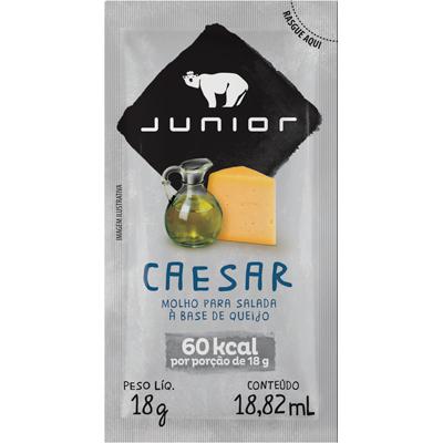 Molho salada caesar unidades de 18g Junior em sachês UN