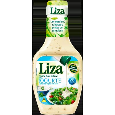 Molho salada iogurte frasco 220 a 250ml Liza FR