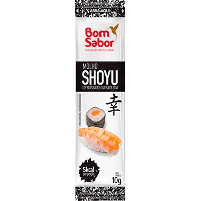 Molho shoyu  unidades de 8/10ml Bom Sabor em sachês UN