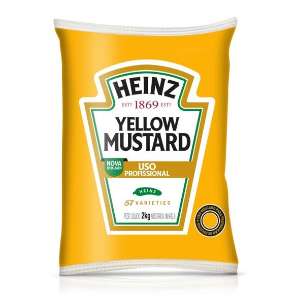 Mostarda bag 2kg Heinz UN