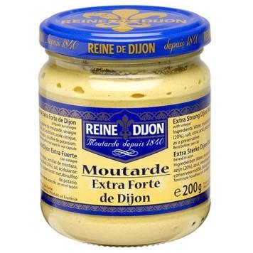 Mostarda dijon 200g Reine Dijon vidro UN