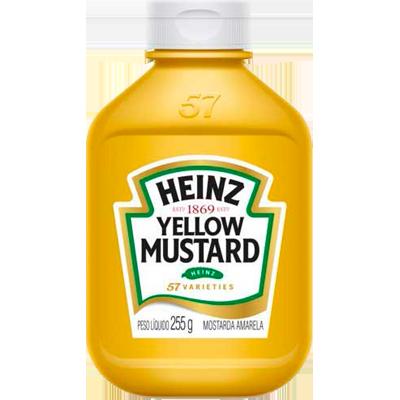 Mostarda  255g Heinz pet UN
