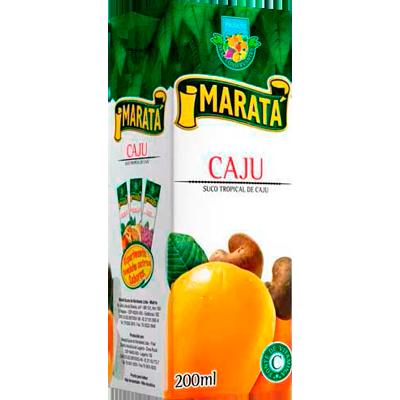 Néctar de Fruta sabor cajú 200ml Marata Tetra Pak UN