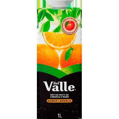 Néctar de Fruta sabor laranja 1Litro Del Valle Tetra Pak UN