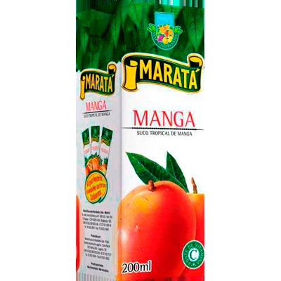 Néctar de Fruta sabor manga 200ml Marata Tetra Pak UN