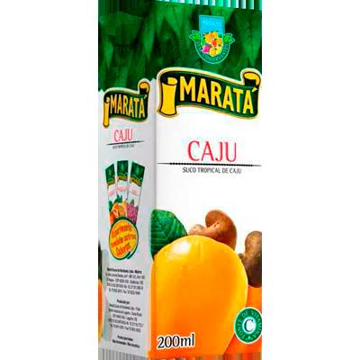 Néctar de Fruta sabor maracujá 200ml Marata Tetra Pak UN
