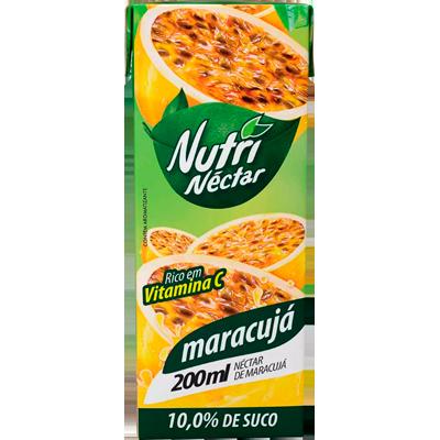 Néctar de Fruta sabor maracujá 200ml Nutrinectar Tetra Pak UN