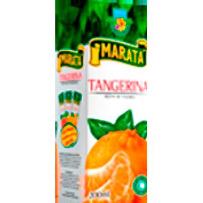 Néctar de Fruta sabor tangerina 200ml Marata Tetra Pak UN