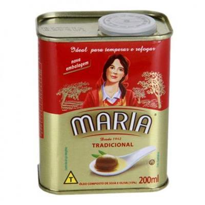 Óleo Composto Tradicional 500ml Maria lata UN