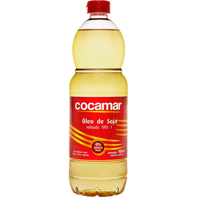 Óleo de Soja  900ml Cocamar pet UN