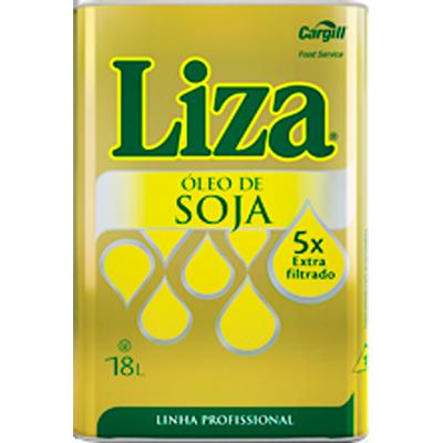 Óleo de Soja  18 litros Liza lata UN