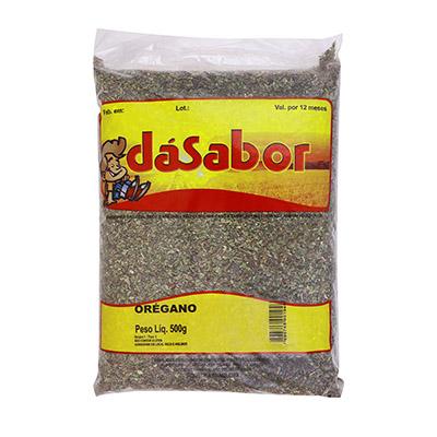 Orégano desidratado pacote 500g DáSabor PCT