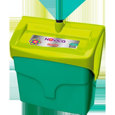 Pá para lixo plástica coletora com cabo unidade Bettanin/Noviça UN
