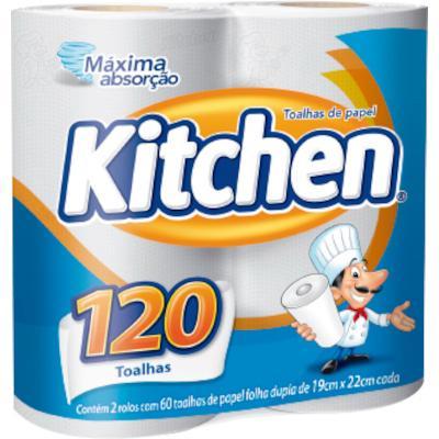 Papel toalha pacote 2 rolos Kitchen PCT