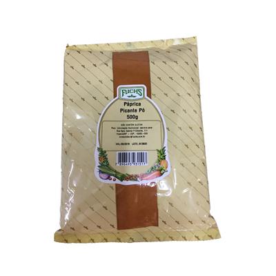 Páprica picante 500g Fuchs pacote UN