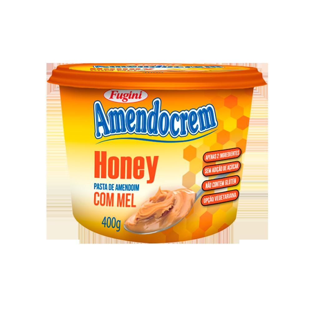 Pasta de Amendoim Honey 400g Fugini pote UN