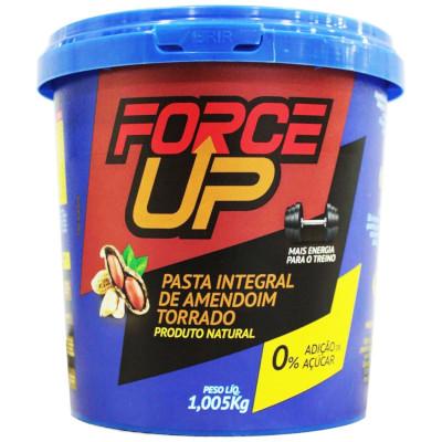 Pasta de Amendoim integral 1,005kg Force Up pote POTE