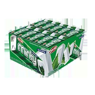 Pastilha sabor hortelã 40 unidades Docile caixa UN