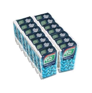 Pastilha sabor tormenta 14 unidades de 16g Tic Tac caixa CX