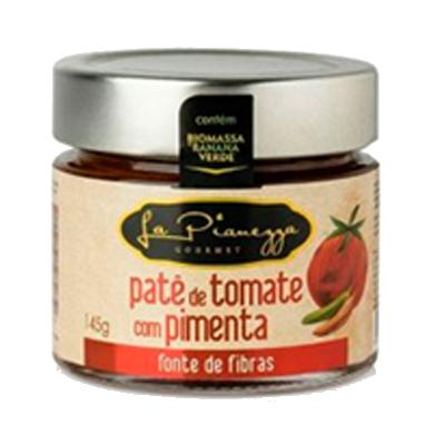 Patê de tomate com pimenta e biomassa de banana verde pote 145g La Pianezza UN