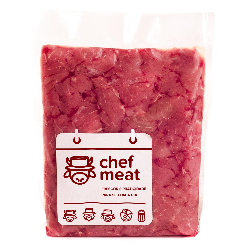 Patinho resfriado em pedaços por Kg Chef Meat  KG