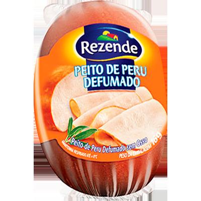 Peito de Peru defumado por kg Rezende peça KG