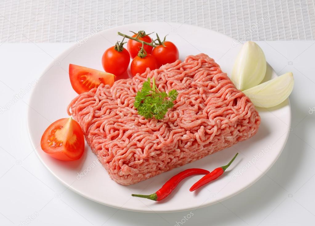Pernil Suíno resfriado moído por Kg Chef Meat  KG