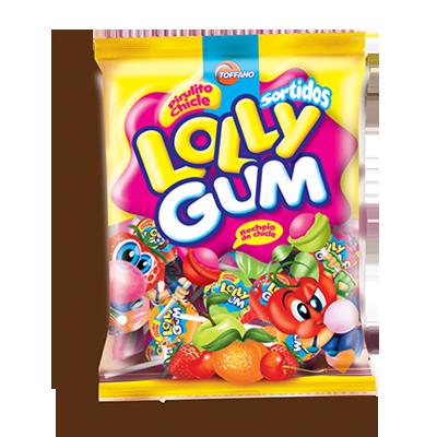 Pirulito sabores sortidos pacote 50 unidades Lolly Gum UN