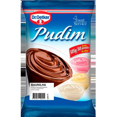 Pó para preparo de Pudim sabor baunilha 500g Dr. Oetker pacote PCT