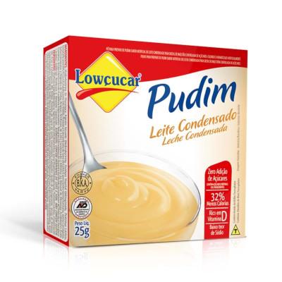 Pó para preparo de Pudim sabor leite condensado diet caixa 25g Lowçucar UN