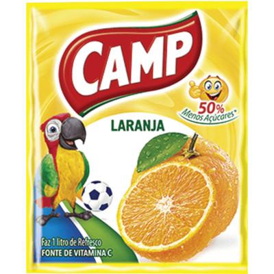 Pó para preparo de suco sabor laranja 15g Camp pacote PCT
