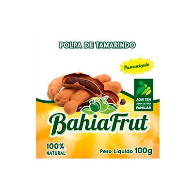 Polpa de tamarindo congelado 100g BahiaFrut UN