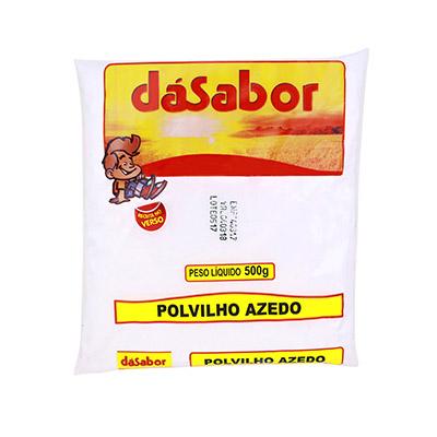 Polvilho azedo 500g DáSabor pacote PCT