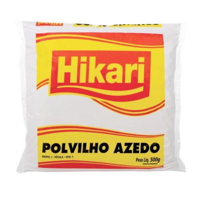 Polvilho azedo 500g Hikari pacote PCT