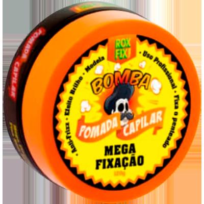 Pomada para Cabelo creme bomba mega fixação 120g Rox Fix  UN