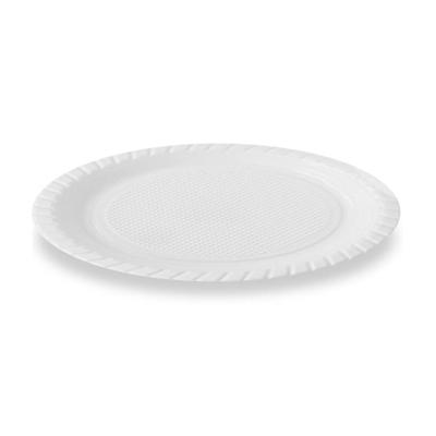 Prato descartável 15cm branco pacote 10 unidades Louri Festas PCT