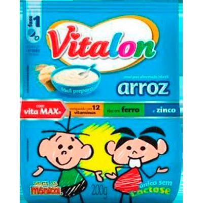 Preparo para Mingau sabor Arroz 200g Vitalon pacote UN
