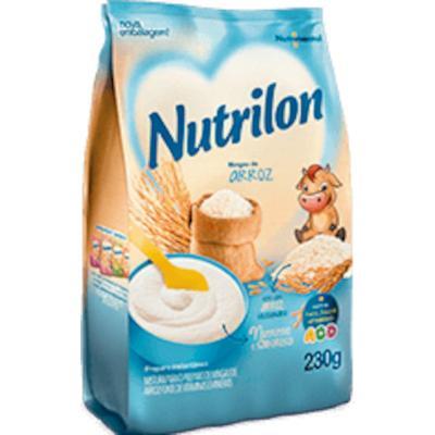 Preparo para mingau sabor arroz pacote 230g Nutrilon UN