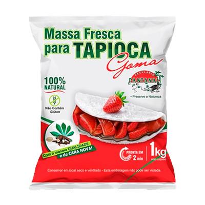 Preparo para Tapioca  1kg Pantanal pacote PCT