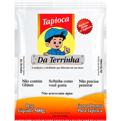 Preparo para Tapioca pacote 500g Da Terrinha PCT