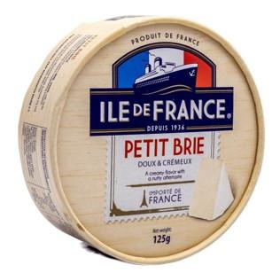 Queijo Camembert  125g Ile de France UN