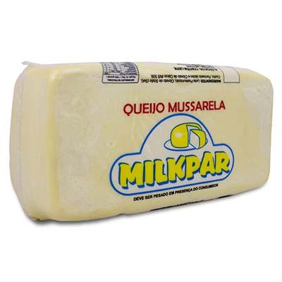 Queijo Mussarela  por Kg Milkpar peça KG