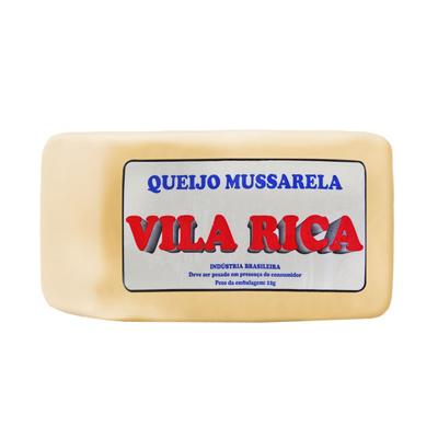 Queijo Mussarela  por Kg Vila Rica peça KG