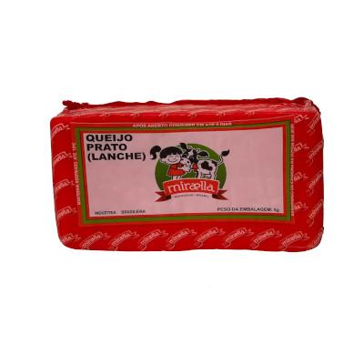 Queijo Prato  por Kg Miraella (peça de 550g) KG