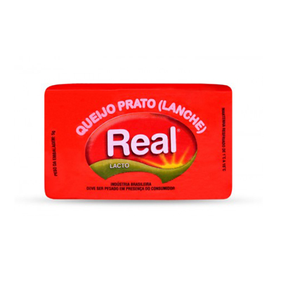 Queijo Prato  por Kg Real peça KG