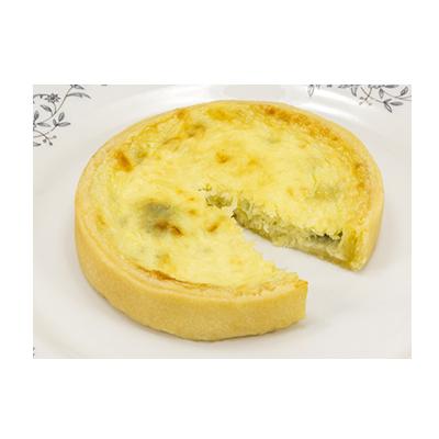 Quiche de quatro queijos 100g 24 unidades Empório das tortas caixa CX